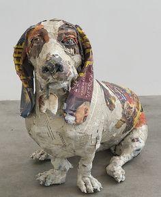 הפטריה | הבחור הזה יוצר פסלים בעיסת נייר כמו שלא ראיתם מעולם