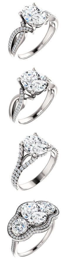 Diamond Engagement Rings Collection - Fashion Jewelry - Wedding Jewelry - Bridal Jewelry