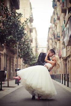 Sweet kiss.