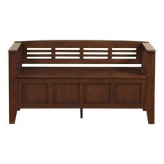 Simpli Home Adams Storage Bench - 3AXCADABEN