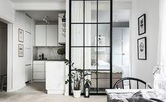 Дизайн малометражки: как сделать отдельную спальню на кухне (37 кв. м) | Пуфик - блог о дизайне интерьера