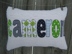Applique Pillows, Sweet Girls, Nursery Ideas, Sewing Crafts, Diaper Bag, Bed Pillows, Interiors, Gift Ideas, Crafty