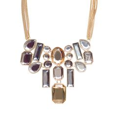 I love the Punch Rectangle Mix Necklace from LittleBlackBag