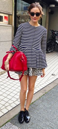 casual chic, im in love w/ nautical stripes