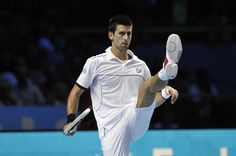 No. 3 Novak Djokovic's Standing: Is it Djokovic the conqueror? Maybe he's Djokovic the choke-a-vic? Even after winning six Slams, Djokovic finds himself in pursuit of respect. As great a player as he is, Djokovic has the misfortune of having a career flanked by greats like Federer and Nadal. How will Djokovic handle the fall of Federer and the resurgence of Nadal? Perhaps the greatest player to play third wheel, Djokovic will stay in the headlines in 2014.