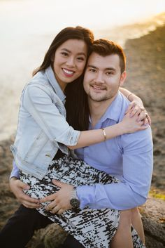 :) We were thrilled when Vivian and Michael told us that they would like to have engagement photo session on the… Beach Engagement, Engagement Photos, Vancouver Beach, Yet To Come, Words To Describe, Little Dogs, New Friends, Photo Sessions, New Experience