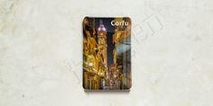 Traveller - Greece Collection - Fridge Magnets Corfu Series; Epoxy Fridge Magnets Detail Page.