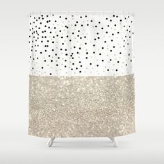 FIRST DATE NUDE Shower Curtain by Monika Strigel