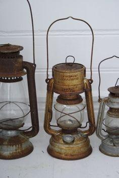 old lanterns...