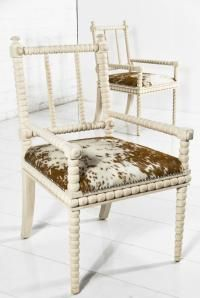 woven cowhide dining chair. | house ideas | pinterest | dining