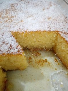 Greek Sweets, Greek Desserts, No Cook Desserts, Sweets Recipes, Greek Recipes, Candy Recipes, Healthy Desserts, Greek Cake, Kitchen Recipes
