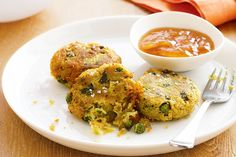 Please the crowd with these Indian spiced potato cakes.