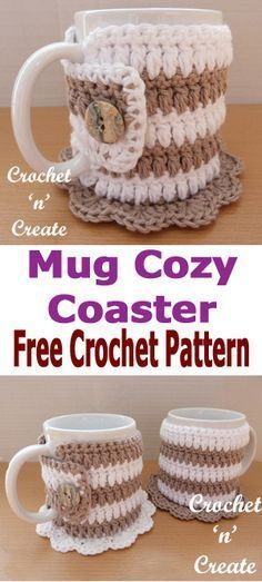 Mug Cozy Pattern Crochet Patterns Pinterest Coffee Cozy Free