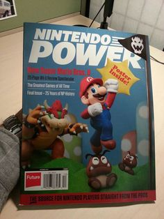 Nintendo Power's last cover...