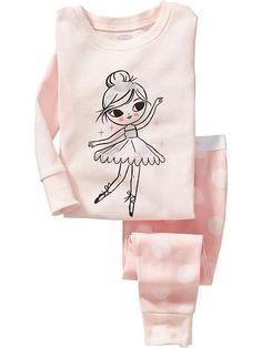 Ballerina PJ Sets for Baby Product Image