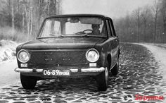 OG | VAZ-2101 / ВАЗ-2101 | Fiat 124 tested by NAMI on the 'belgian track' in…