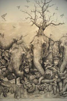 Elephants GR 2012 Art Prize