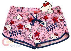 Sanrio Hello kitty Women PJ Short Sleep Pants #kitty #hello kitty #adult hello kitty