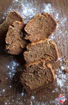 Recipe: Spicy Pumpkin Gingerbread | Great Body & Skin  Gluten free, lactose free, egg free and vegan.