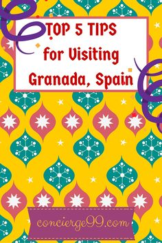 Tips for planning your visit to Granada, Spain to get the most out of it. Also, the must-do things when you visit Granada to ensure you experience life like a local, and what a life it is <3