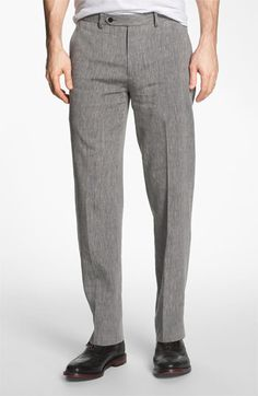 John Varvatos Star USA Red Label 'Petro' Flat Front Trousers | Nordstrom