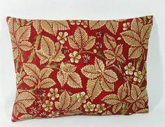 "William Morris Bramble Mineral//Slate Cushion Cover 16/""x12/""  Stunning Fabric"