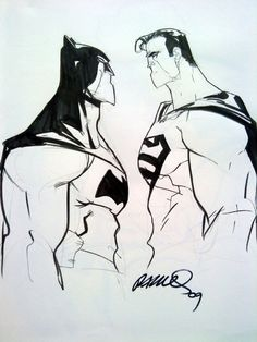 Superman & Batman by Humberto Ramos