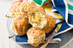 Scones, either sweet or savoury, are a great after school snack.