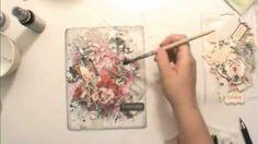 Swirlydoos Kit Club: Scarlet Elegance cover tutorial by Cindy Brown