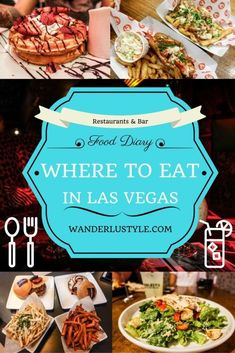 Find out the Best Places to Eat in Las Vegas! - Las Vegas Travel Guide, Best Food Places, Las Vegas Food, Las Vegas Foodie, Foodie Travel | Wanderlustyle.com #TravelDestinationsUsaLasVegas