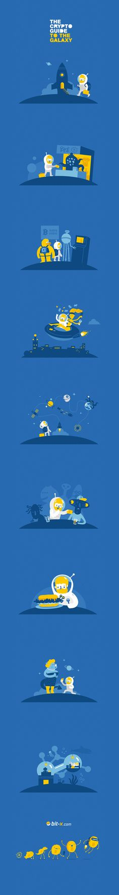 The Crypto Guide to the Galaxy on Behance