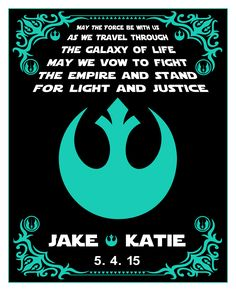 Star Wars Wedding Gift For Personalized By Thecenterfold There Is More Hiness Pinterest Unique Gifts