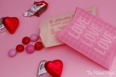 The Pinterest Project: Valentine's Day Pillow Boxes