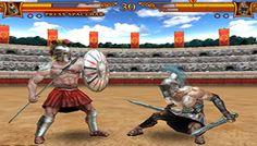 Gladiatorul 3d - En Gladiador 3d a aprender a luchar como un verdadero gladiador, con lanzas, espadas, escudos, una vida de lucha medieval y de la muerte Online Games, Free Games, Medieval, Coat Of Arms, Swords, Wrestling, Death, Life, Mid Century