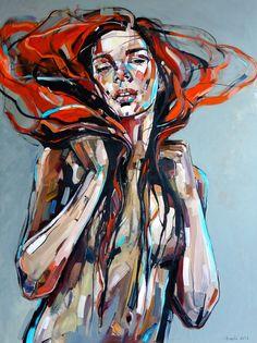 ArtAffair – Galerie für moderne Kunst | Anna Bocek: Red Hair