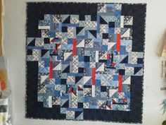 Quilt made at Lisa Waltons class in New Plymouth 2016