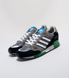 huge selection of 3048b 785a9 It s not something we ve seen quite as much from Nike or New Balance over  the years, so adidas  penchant for white, grey and black runners with green  ...