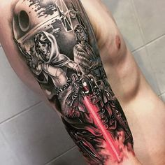 Skywalker family tattoo by the amazing @tattoo_magu!