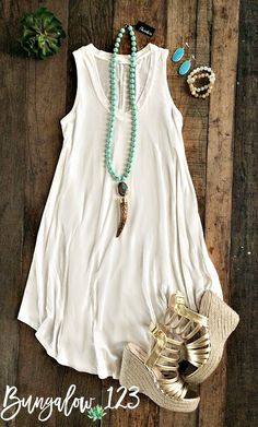 Shaw Dress - Ivory