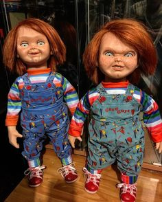 Child's Play 2 doll my favorite doll Horror Icons, Horror Movie Posters, Horror Movies, Arte Horror, Horror Art, Geeks, Good Guy Doll, Child's Play Movie, Childs Play Chucky