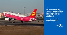 We are currently seeking A320 Captains for Beijing Capital Airlines at various bases across China. This package is one of the best on the market and includes competitive salary, health insurance, sign on bonus, and educational allowance. Apply today for this exciting opportunity!