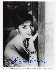 MICHELE MERCIER autographe dédicace signed photo signiert autografo | eBay