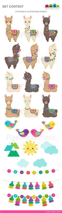 Alpacas, Llama Clipart, Wallpaper Fofos, 3d Chalk Art, Llama Birthday, Dark Fantasy Art, Art Day, Clip Art, Embroidery