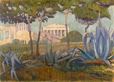 Shop for Konstantinos Maleas 'Acropolis' Oil on Canvas Art - Multi. Get free delivery On EVERYTHING* Overstock - Your Online Art Gallery Store! Oil On Canvas, Canvas Art, Greek Paintings, Painter Artist, Post Impressionism, 10 Picture, Greek Art, Conceptual Art, Ancient Art