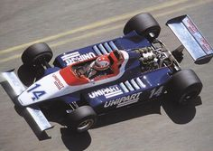 1980 Ensign N180 - Ford (Clay Regazzoni)