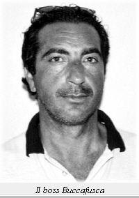 Vincenzo Buccafusca(1955)  reggente de la famille de Porta Nuova 2005-06.  arrested on 11 April 2000/ Sentenced to life imprisonment. was the link between the Cosa nostra, camorra ,'ndrangheta