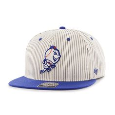 MLB New York Mets Glimmer  47 CAPTAIN Mesh Snapback Hat Womens  16244b879e