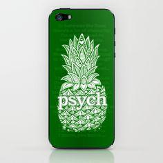 Psych Pineapple! iPhone & iPod Skin by Alohalani - $15.00