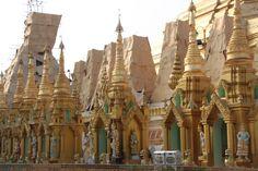 pagodas in yangon | Yangon Shwedagon Pagoda (8) – Janet Levinger