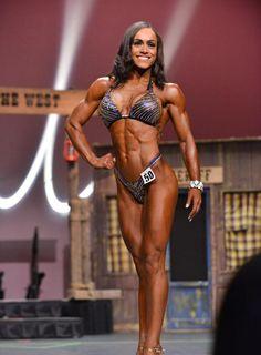 Myra Rogers 4th Felicia Romero Pro 2014 Fitness Class